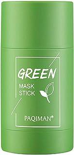 Uing Maschera al tè Verde Maschera Purificante All'argilla al tè Verde Controllo Dell'olio Antiacne Melanzane Solide Fini ...
