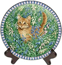 Lesley Anne Ivory c1990 Aynsley Meet My Kittens March Spiro Plate CP1311