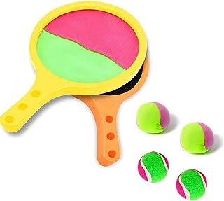 comprar comparacion Joy-Jam Juguetes para niños 3-8 años Juego Tirar Atrapar Pelotas de Tenis Pelotas Ping Pong Verano Juego Deportes Niños Pr...