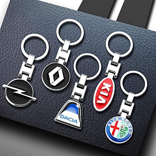 3D Metal Alloy Car Styling Fashion Keychain Key Chain Key Rings For Suzuki Jeep Skoda Seat Peugeot Renault Infiniti BMW Audi KIA ForPeugeot