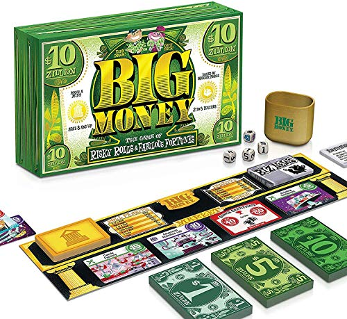 Ravensburger Big Money Family Board Game for Kids Age 8 Years and Up - Risky Rolls and Fabulous Fortunes!