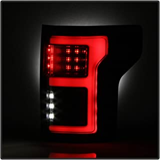 Spyder 5085337 Black Fiber Optic LED Tail Lights