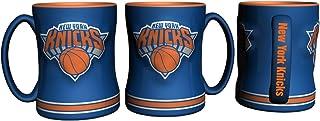 Boelter Brands NBA New York Knicks 298526 Coffee Mug, Team Color, 14 oz