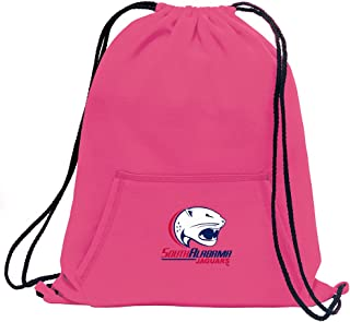 "Promoversity NCAA South Alabama Jaguars 成人运动衫卡袋,17.75"" x 14.5"",霓虹粉"