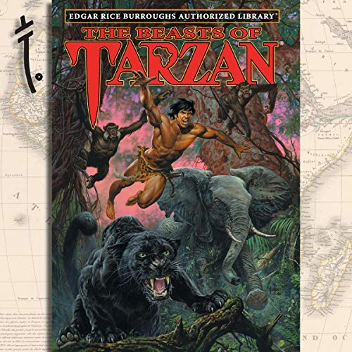 The Beasts of Tarzan  By  cover art