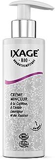 IXAGE Crème Anti-Cellulite Amincissante 200 ml BIO, Naturel et BIO, Fabriqué en France, Caféine et Café Vert, Anti peau d'...