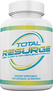 Total Resurge Deep Sleep Formula 120 Capsules - Total Resurge Deep Sleep and Weight Loss Sleep Aid - Deep Sleeping Pills N...