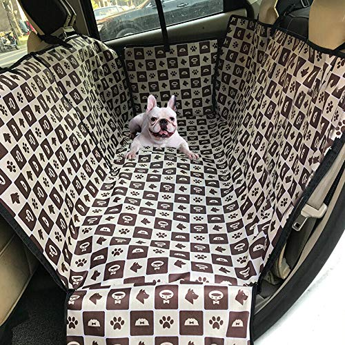Car Protector for Dogs Plaid Dog Seat Covers for Cars for Back Seat Of Car Car Boot Protector