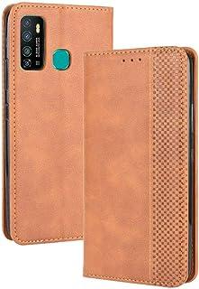 جراب لهاتف Infinix Note 7 Lite X655C، جراب جلدي قلاب بمحفظة وحامل لهاتف Infinix Note 7 Lite X655C، جراب هاتف مغناطيسي قديم...
