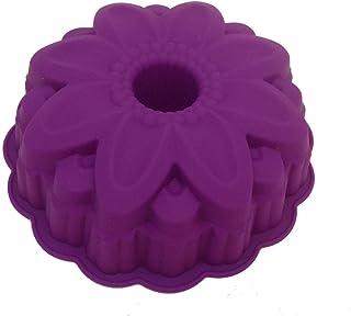 GMMH - Originale Moule De Cuisson Cake En Silicone Moule Fleur Moule À Pain Carène Fruits - Violet