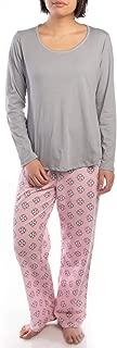 Jockey (2 Piece Soft Pajama Set for Women Cotton Long Sleeve Shirt Pants Ladies PJs for Teen Girls Sleepwear