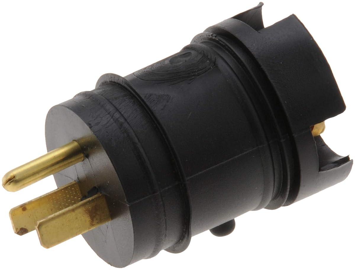 Zerostart 8605254 Heavy Duty Weatherproof Male Plug   120 Volts