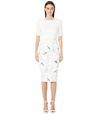 Ted Baker Kinnya Dress (Ivory) Women