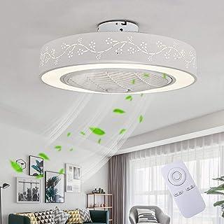comprar comparacion Ventilador De Techo LED Lámpara, Creative 40W Regulable Ventilador De Techo Invisible Lámpara Luz De Techo del Ventilador ...