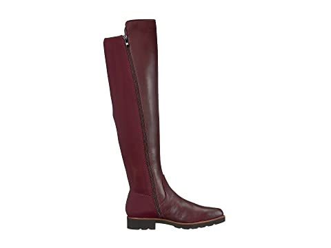 Franco Sarto Benner by SARTO Dark Burgundy Leather/Stretch Lycra Outlet Official Buy Cheap Browse cGBrwHr63