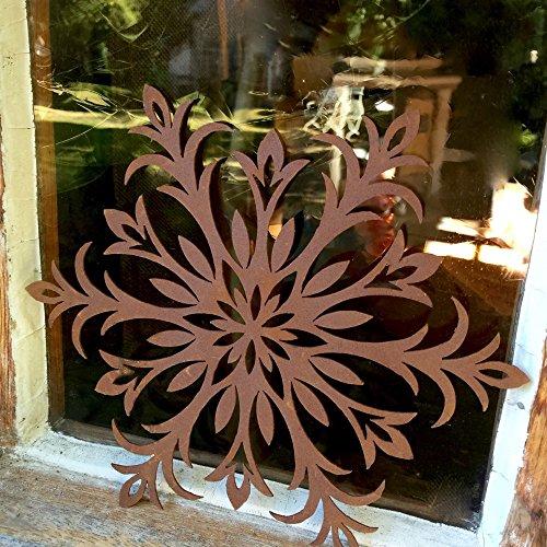 Gartendeko Sterne Antik Finish Rost, Weihnachtsdekoration Garten, Fenster-Sterne