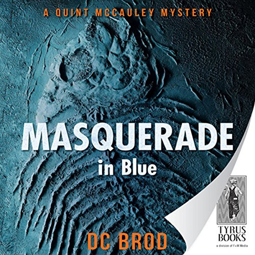 Masquerade in Blue audiobook cover art