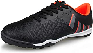 Hawkwell Men's Athletic Lightweight Running Outdoor/Indoor Comfortable Soccer Shoes