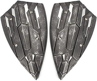 A_Magic アベンジャーズキャプテンアメリカシールド誕生日プレゼントコスプレパーソナルコレクション (Color : Long shield (pair))