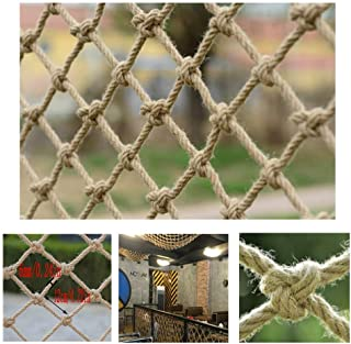 HWJ Children s Stairs Safety Net Climbing Rope Retro Bar Decoration Net Indoor And Outdoor Railing Safety Net Hanging Net Fence Net Cat Net Hanging Clothes Net  Size 4x5m