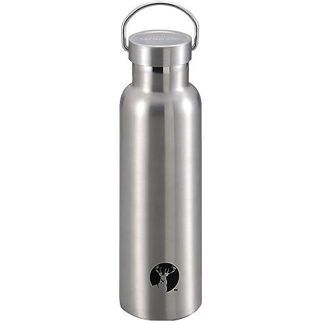 キャプテンスタッグ(CAPTAIN STAG) スポーツボトル 水筒 直飲み ダブルステンレスボトル 真空断熱 保温 保冷 HDボトル 600ml