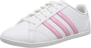 Adidas Vs Coneo Qt Shoes For Women - White/Pink 38 EU (F34703_0)