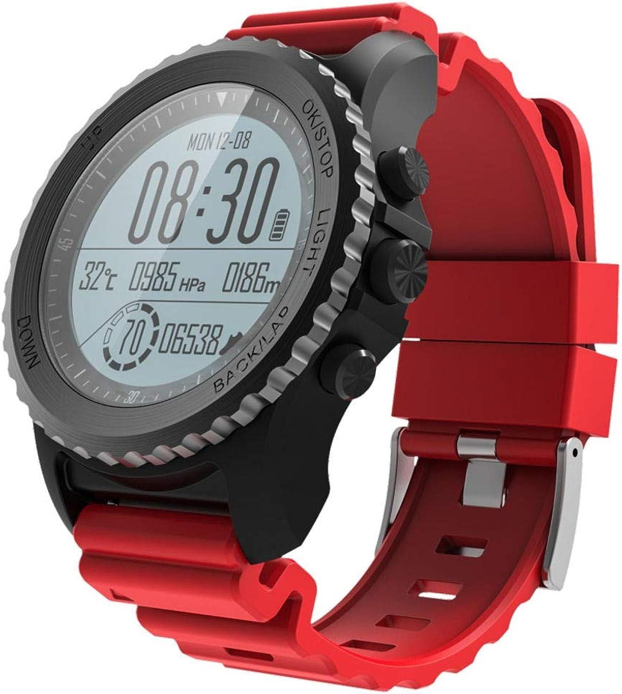 ELYSYSRL Smartwatch Wasserdicht Fitness Aktivittstracker Schrittzhler Herzfrequenzmesser GPS Schnorcheln+Schwimmen Im Freien Sportuhr
