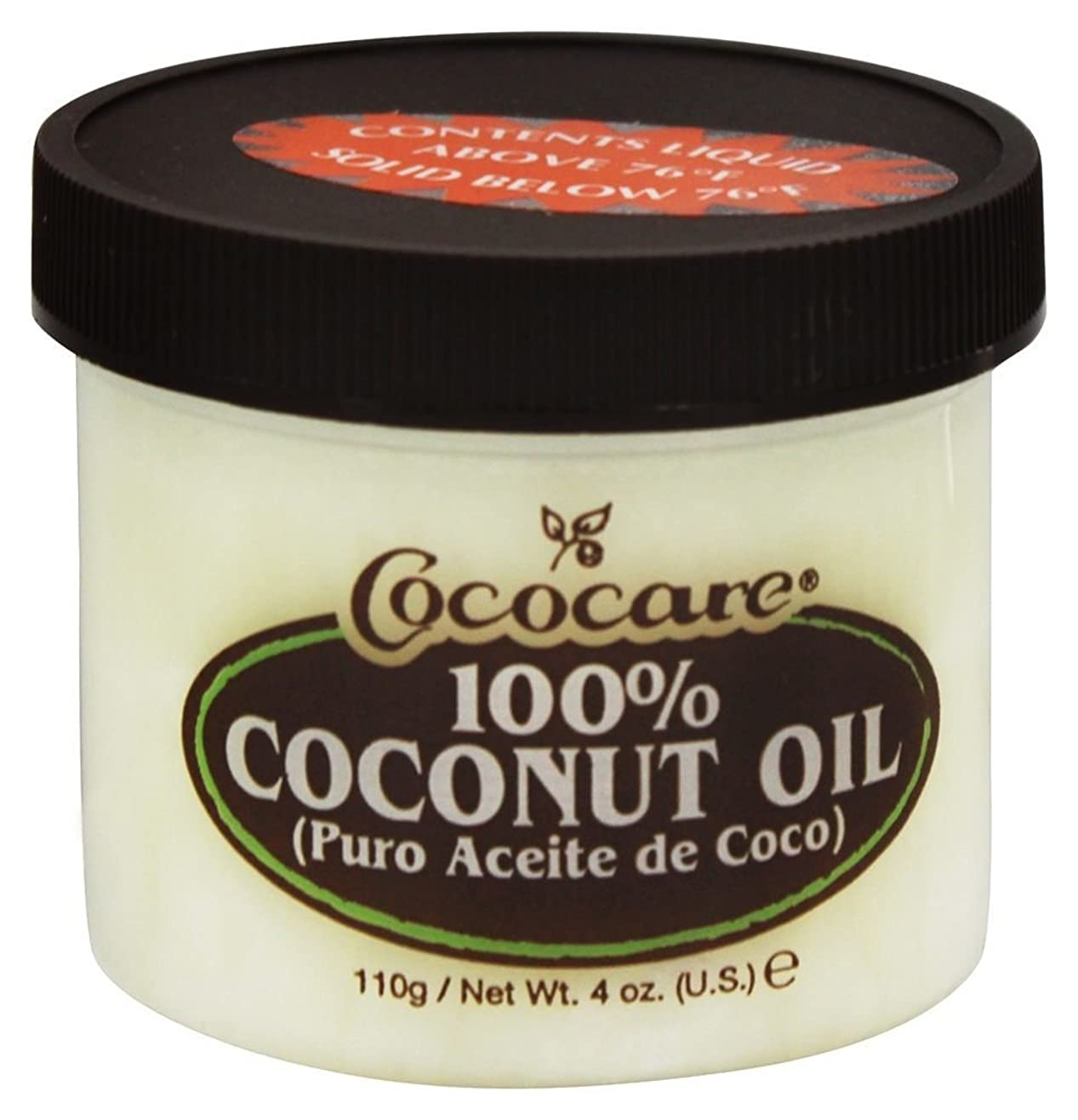 排除する偽造姉妹Cococare - 100% ココナッツ オイル - 4ポンド [並行輸入品]