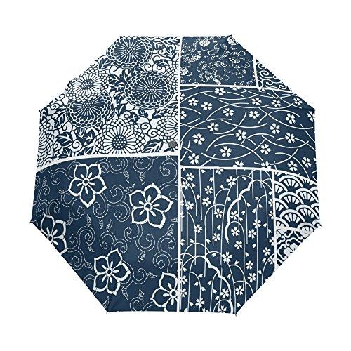 Parasol Parapluie Parapluie De Pluie Vintage Floral Parapluie Femmes Parapluie Coupe-Vent Pliable Fille Fleur Parapluies Non Automatique