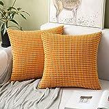 MIULEE granules_corduroy_pillow cover_8