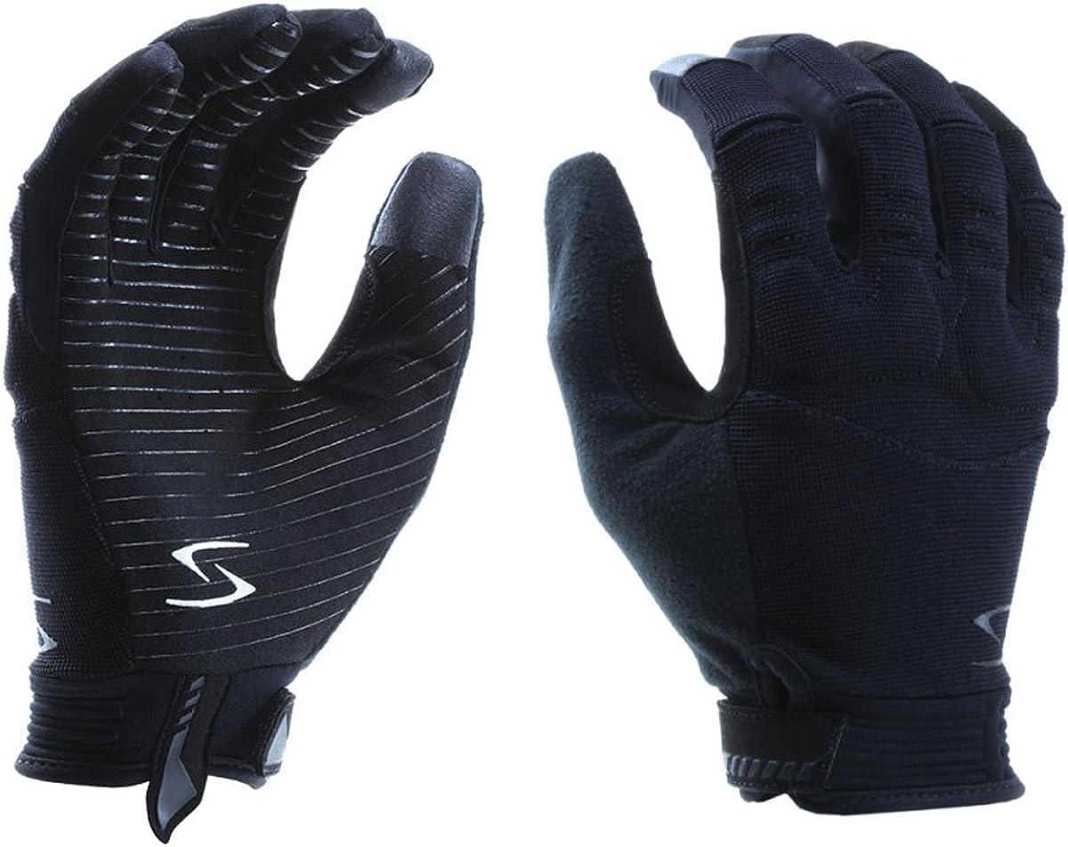 Oakland Mall Serfas Men's Octane Full Finger L - Cycling Gloves Black San Jose Mall