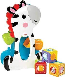 Zebra Blocos Surpresa, Fisher Price, Mattel