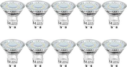 LE lampadine led LED 4W, Attacco GU10, 4W Equivalente a 50W, Faretto LED 350lumen, Luce Bianca Diurna 5000K, Confezione da 10