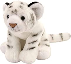Wild Republic White Tiger Plush, Stuffed Animal, Plush Toy, Gifts for Kids, Cuddlekins 8 Inches