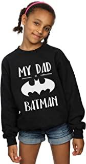 DC Comics Girls Batman My Dad Is Batman Sweatshirt