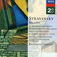 Stravinsky: Ballets - Le Sacre du Printemps (The Rite of Spring); Petrushka; Jeu de Cartes; Apollon Musagete; L'Oiseau de Feu Suite (The Firebird Suite) (2003-11-25)