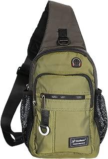 Crossbody Sling Bag Backpack for Men & Women Army Green