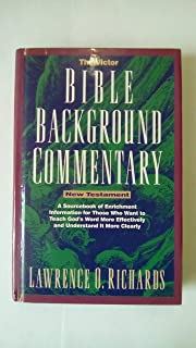 The Victor Bible Background Commentary: New Testament (Home Bible Study Library)
