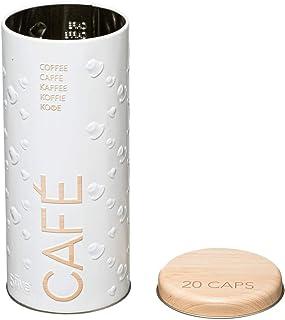 1 x Boîte à Capsules de Café- Boîte pour Dosettes de Café - Porte Capsules (18 x 8 cm)