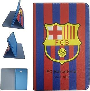 Galaxy Tab A6 10.1-inch 2016 Tablet Case, FC Barcelona Football Team Club Pattern PU Leather Flip Case for Samsung Galaxy Tab A6 10.1-inch SM-T580/T585 (FC Barcelona)