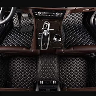 VENMAT Car Floor Mats Custom Made for Range Rover Sport L494 5 Seater 2014-2019 Foot Carpets Faux Leather All Weather Waterproof 3D Full Surrounded Anti Slip (Black with Black Stitch)