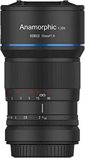 SIRUI 50mm f1.8 Anamorphic Lens E Mount (Renewed)