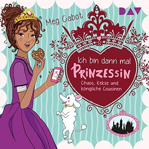 Chaos, Kekse und königliche Cousinen     Ich bin dann mal Prinzessin 2              De :                                                                                                                                 Meg Cabot                               Lu par :                                                                                                                                 Dagmar Bittner                      Durée : 2 h et 57 min     Pas de notations     Global 0,0