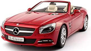 1/18 Mercedes Benz SL500 Cabrio DIECAST MODEL CAR (MATTE SILVER)