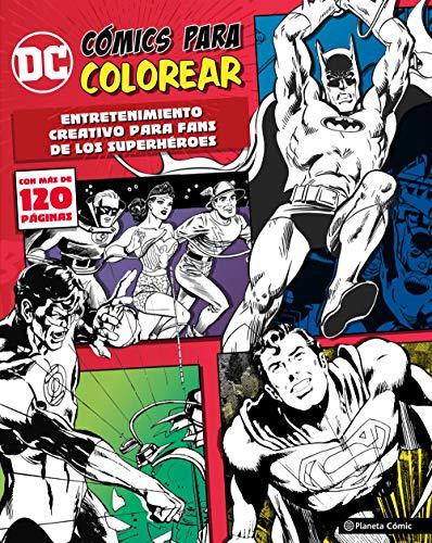 DC Cómics para colorear superhéroes: Entretenimiento creativo para fans de los superhéroes (Independientes USA)