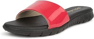 SOLES Women Espadrille Red Comfort Flats