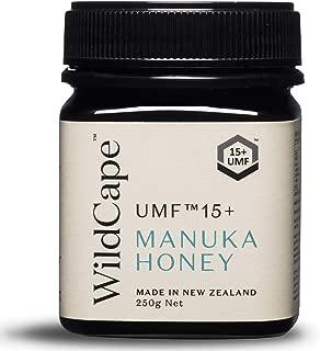 WildCape UMF 15+ East Cape Manuka Honey, 250g (8.8 oz)