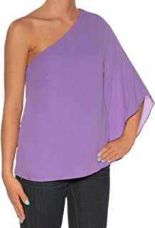 Ralph Lauren $79 Womens New 1441 Purple Bell Sleeve Top XS Petites B+B