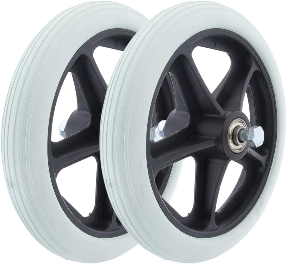dailymall Max 62% OFF 2pcs Wheelchair Front Replacement Wheels Great interest Castor Parts