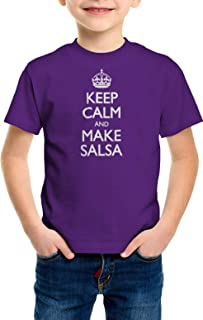 Boys Keep Calm and Make Salsa Youth T-Shirt